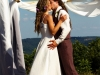 Kendra and Jake's Earth Friendly Wedding | Hippie Wedding Dresses | Hemp Suit | Colorful Natural Dress | Made in Vermont | Arkansas | Under $5000