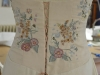 Embroidered Medieval wedding dress