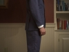 Mens hemp suit navy bespoke jacket and vest  (17)