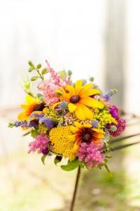 Creative Muse Wildflower Bouquet Black Eyed Susans