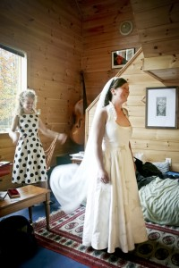 organic cotton wedding dress