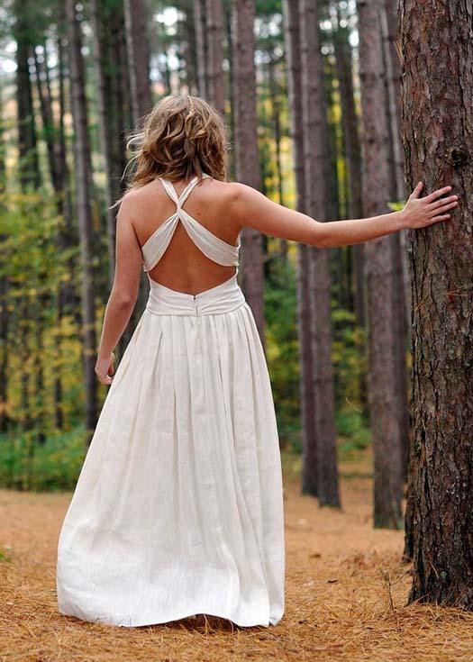 Eco Friendly Hippie Wedding Dresses by Tara Lynn