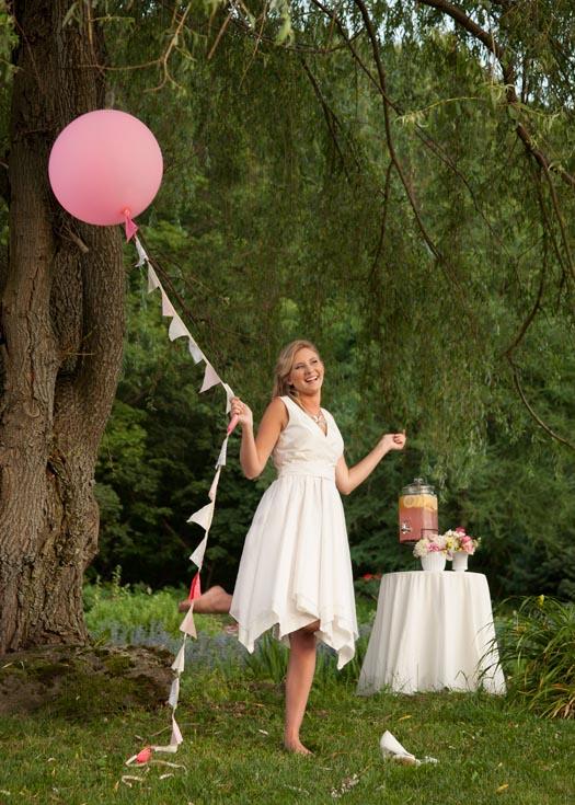 A Whimsical Pixie Wedding Dress