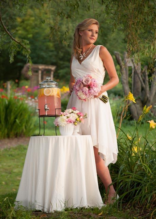 A Pixie Wedding Dress