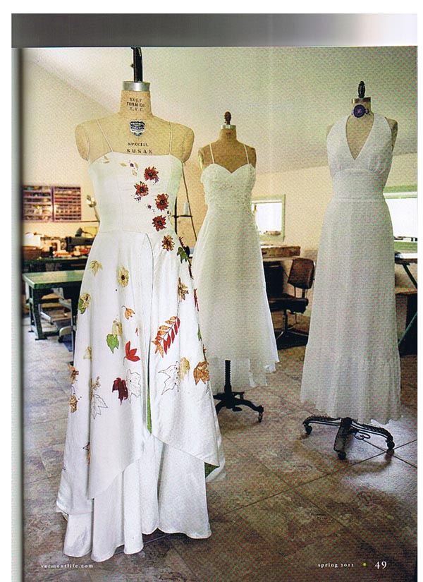 Tara Lynn Bridal makes natural wedding gowns with eco fabrics