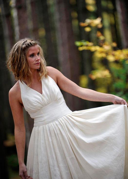 hemp wedding dresses by Tara Lynn