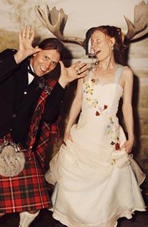 Fire's Eco Wedding Dress