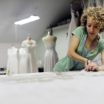 Eco fashion designer makes natural fiber wedding dresses, custom wedding gowns and one of a kind wearable art.