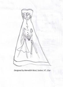 Designed by Meredith Nicol, Sutton, VT, 12yr.