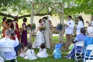 Chuppah, custom wedding gown, ethnic traditions, eco-friendly wedding
