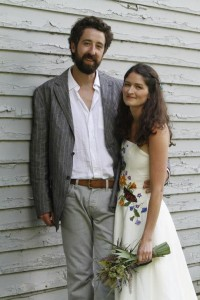 Diana's Non-Traditional Wedding Dress with straps   Eco friendly hemp wedding dresses   Made in Vermont   Hancock, NY   Under $5000