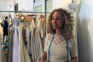 Vermont-based designer of her label, optimism and romanticism embodied by Tara Lynn the collection, Eco-Friendly Wedding Dress, boho wedding dress, Vermont dressmakers