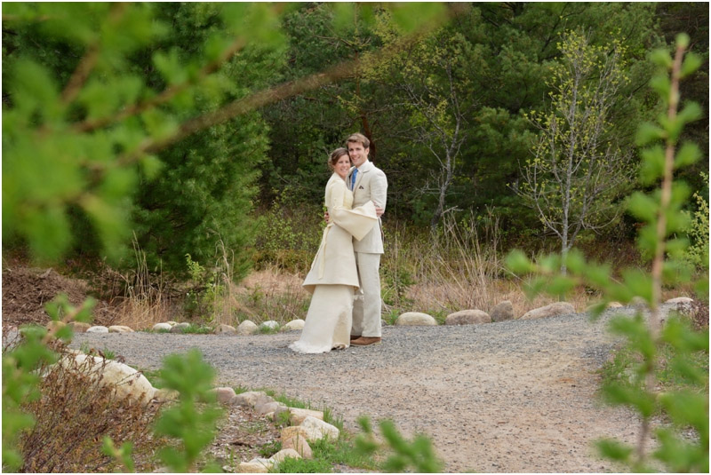 Eco- conscious wedding hemp suit, shirt and pant made by Tara Lynn Bridal