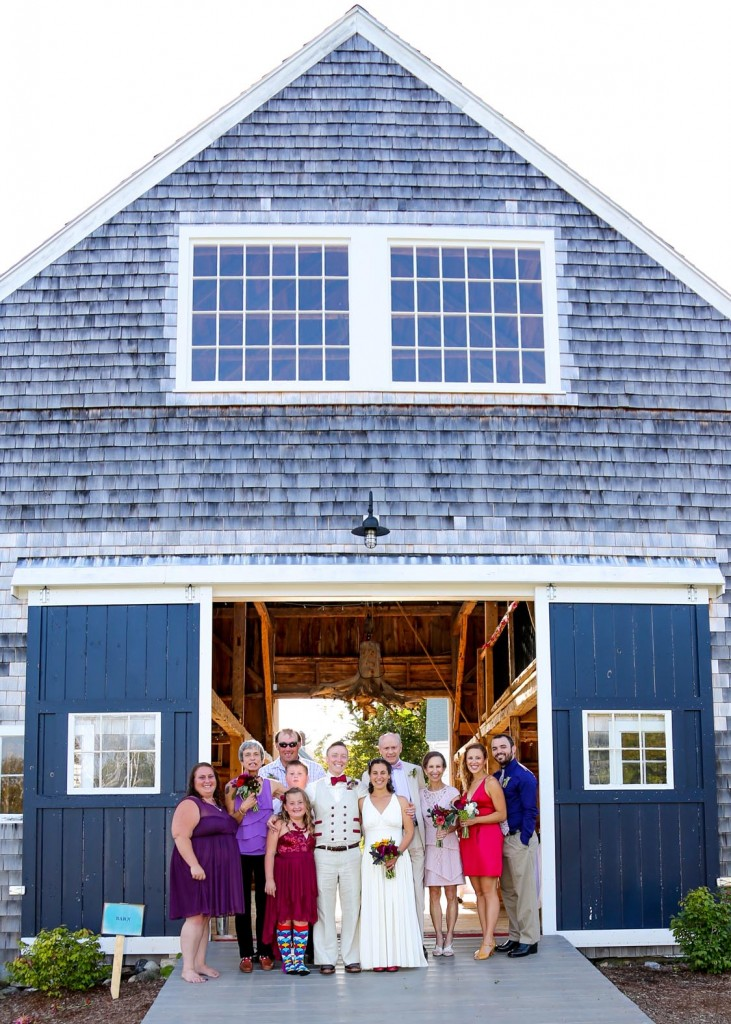 Live Well Barn Maine Weddings