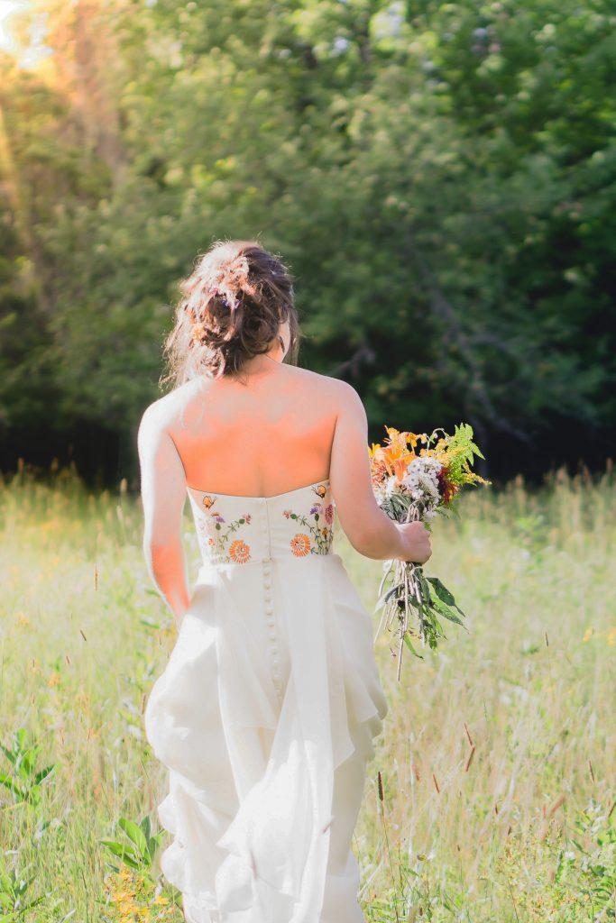 heirloom wedding dresses custom made by Tara Lynn