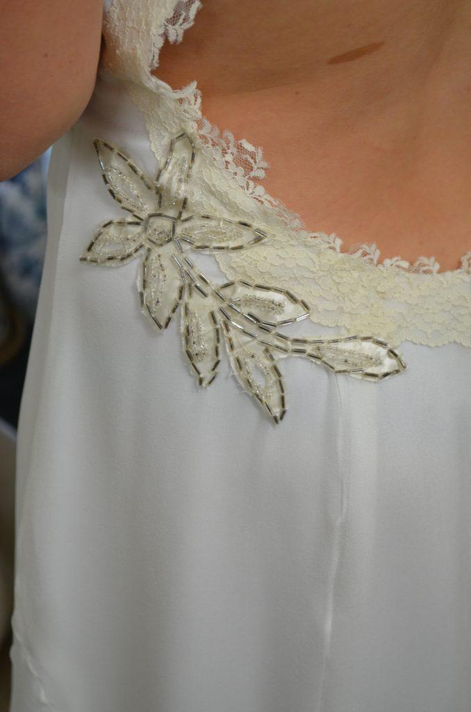Recycled wedding dressed made by Tara Lynn Bridal