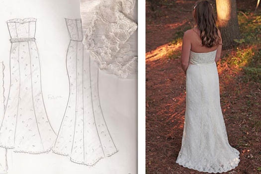 repurposing heirloom wedding dresses by Tara Lynn Bridal