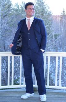 Bespoke Suit Navy Hemp Suit
