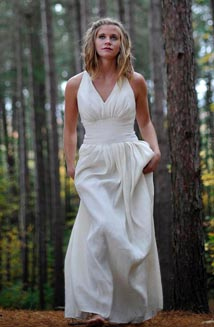 Goddess Wedding Dress | Boho Wedding Dress