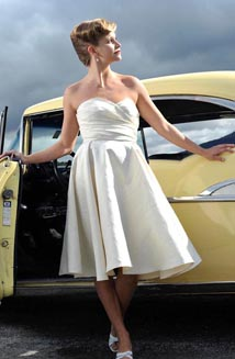 Billie Jean is a Vintage Style Wedding Dress with Pockets, $1,250
