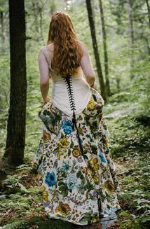 Floral Printed Wedding Dresses
