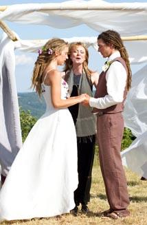 Kendra's Eco-Friendly Hippie Wedding Dress