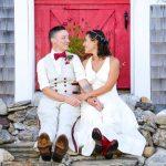 LGBT Friendly Custom hemp wedding dresses and suits