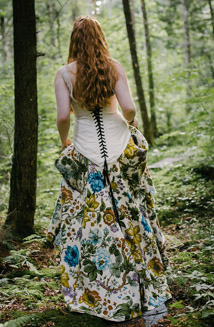 Ethereal Woodland Wedding Dress, Abela, photos coming soon