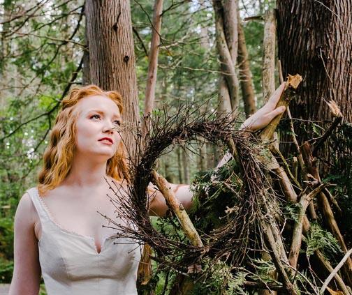 Woodland Wedding Dress by Tara Lynn Bridal
