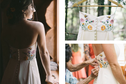 Repurposed wedding dress by Tara Lynn Bridal