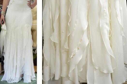Couture wedding dress by Tara Lynn